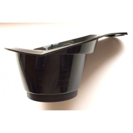 Golwell color bowl black