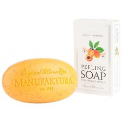 Manufaktura Peeling Herbal Soap with Almond Oil - Apricot 150g
